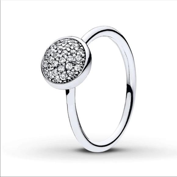 pandora sterling silver ring sz 7